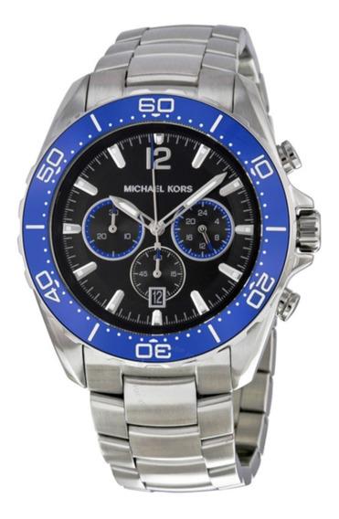 Relógio Importado Michael Kors Chronograph Black Dial
