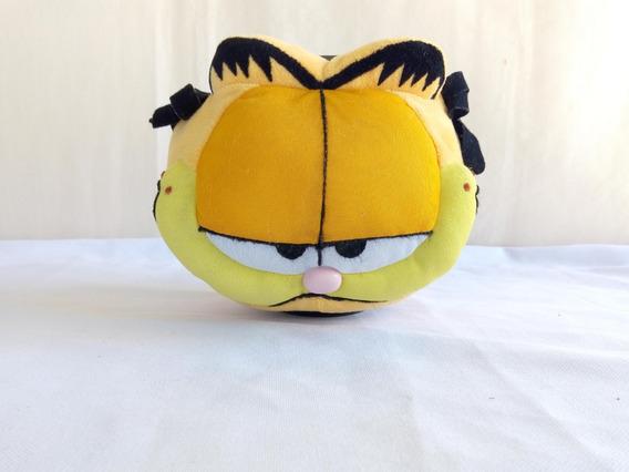 Gato Garfield - Cofre Porta Moedas De Pelucia