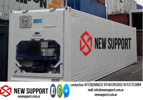 Containers Rf 40 Pies (12 Mts ) Refrigerado Marítimo
