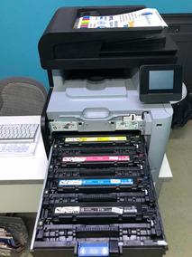 Impressora Hp Multifuncional Laserjet Pro Mfp M476 Dw