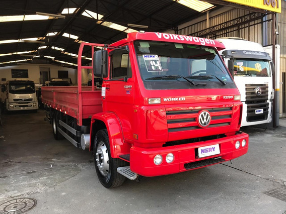 Caminhão Vw 13.190 Worker Carroceria 2014 Un.dono