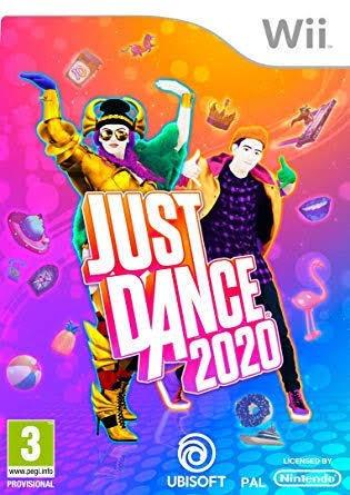 Just Dance 2020 Wii Mídia Digital Frete Grátis