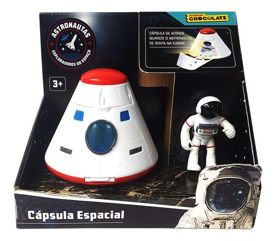 Brinquedo Infantil Cápsula Espacial Astronautas F00241 Fun