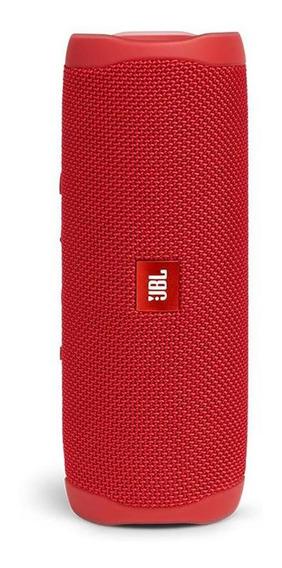 Caixa De Som Jbl Flip 5 Vermelha Sem Fio Portátil Lacrado