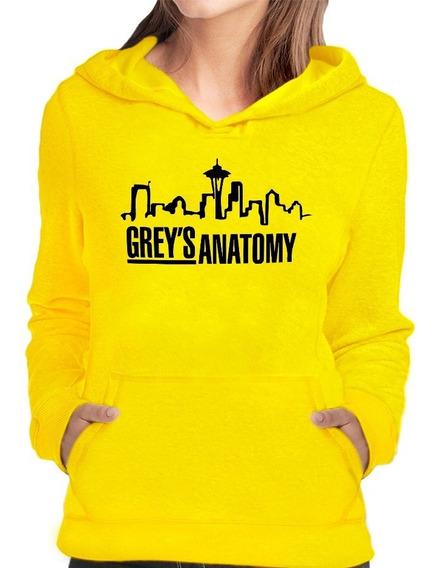 Moletom Blusa Greys Anatomy Beautiful Day Serie Feminino