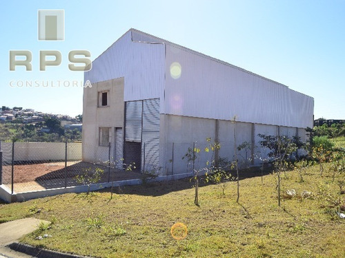 Imagem 1 de 8 de Galpão Novo  Para Locação Em Bragança Paulista - Gl00016 - 4750751