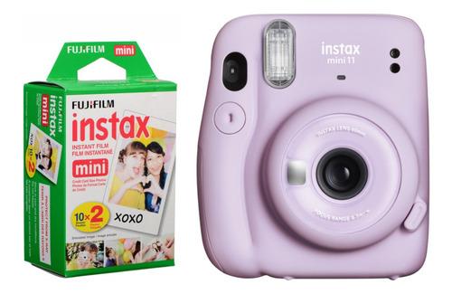 Câmera Instantânea Fujifilm Instax Mini 11 Lilás + Filme
