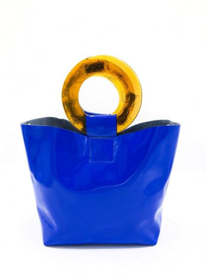 Cartera Biarritz Azul Las Pepas