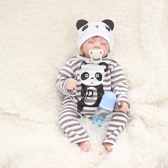 Bebe Reborn Bebê Silicone Reborn Realista
