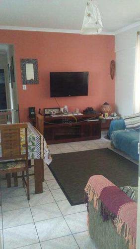 Apartamento Com 3 Dorms, Centro, São Vicente - R$ 320 Mil, Cod: 2106 - V2106
