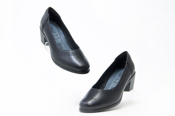 Zapatos Bonitos Dama Flexi 15412 Negro 100% Originales!!