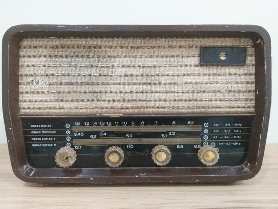 Radio Antigo Transbrasil Piii 7147-apl 1968 * Funcionando