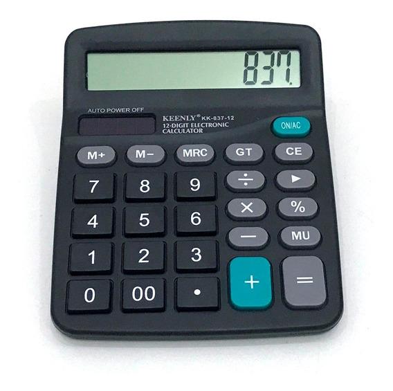 6 Calculadora De Mesa Comercial 12 Digitos V837