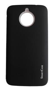 Estuche Case Moto E4 Plus Protector Piel De Durazno Suave