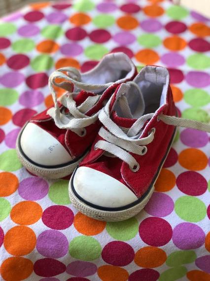 Zapatillas Botitas Checky Converse Unisex.talle 20