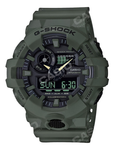 Reloj Casio G-shock Youth Ga-700uc-3 Utility Color