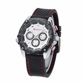Relógio De Pulso Curren 8146 Luxo Analógico Promoção