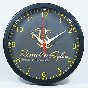 13 Relógios De Parede Personalizados (c/ Caixas Individuais)