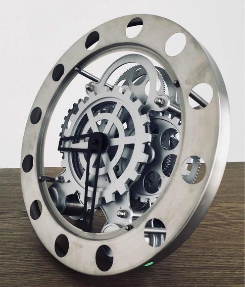 Reloj De Engranes De Pared Con Movimiento