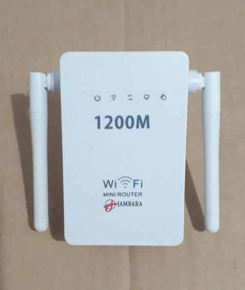 Mini Roteador Wireless - Jambara - Pouco Uso