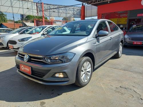 Imagem 1 de 10 de Volkswagen Virtus 2020 1.0 Comfortline 200 Tsi Aut. 4p