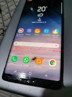 Galaxy Note 8 128gb Gris Telcel Detalle Pantalla Liberado