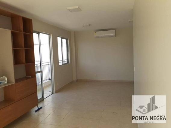 Cobertura Com 3 Dormitórios, Semi Mobiliada, À Venda, 149 M² - Ponta Negra - Manaus/am - Co0014