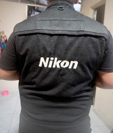 Colete Fotógrafo Nikon E Outros