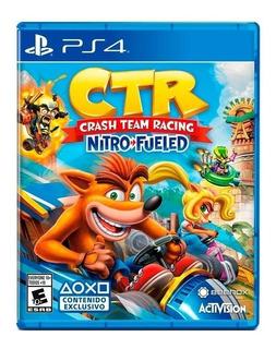 Ctr Crash Team Racing Nitro Ps4 Fisico Sellado Nuevo