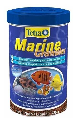 Ração Para Peixes Tetra Marine Granules 225g - Pet Hobby