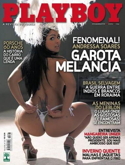 Playboy Garota Melancia Junho De 2008