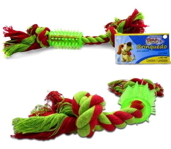 Brinquedo Para Pets Cães E Gatos Mordedor Corda