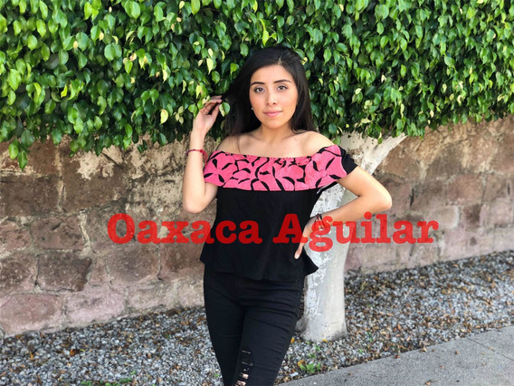 Blusa Mujer Dama Sexy Campesina Hombros Bordada Mexicana