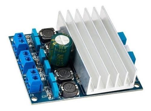 Imagen 1 de 2 de Modulo Amplificador Tda7492 Clase D 100w Rms 2x50w Arduino