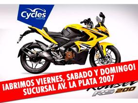 Bajaj Rouser 200 Rs Moto 0km El Mejor Precio En Cycles