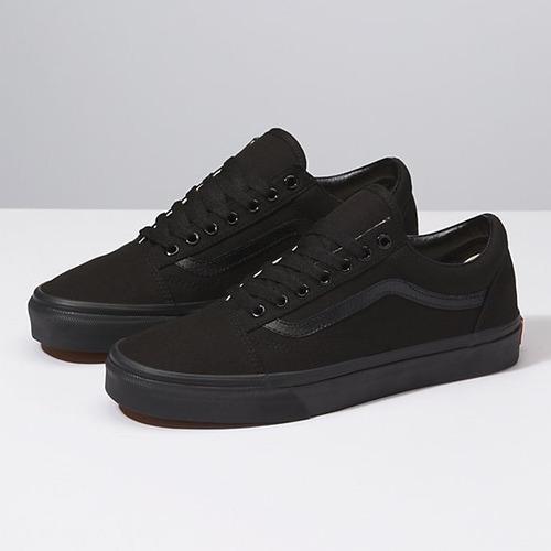 zapatillas vans old skool negras hombre