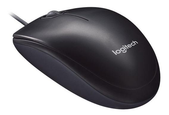 Mouse Usb Com Fio Logitech M90