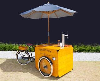 Bier Bike / Food Truck / Food Bike - Aceito Prop E Cartão