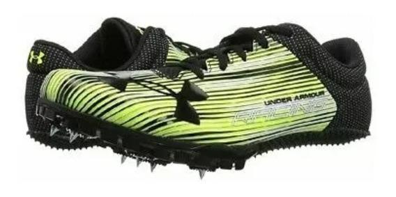 Tenis Under Armour Racing Kick # 13 Us Verde Neon
