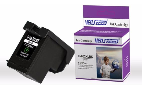 Cartucho Compatible Hp 662 Xl Negro