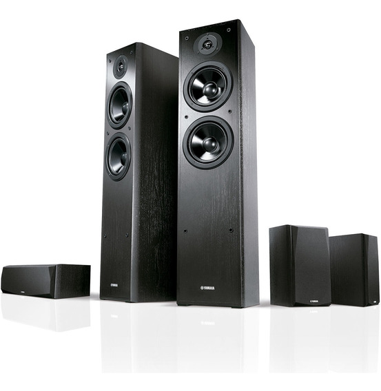 Kit Home Theater 5.0 Yamaha Ns F51 + Ns P51 Revenda Oficial