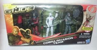 G.i.joe Retaliation Cobra Invasion Team 3 Figures