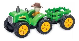 Trator Little Farm Carga Seca 214 Usual Plastic