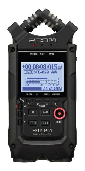 Zoom Gravador De Áudio H4n Pro Black