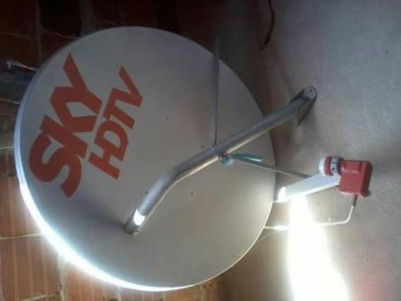 Vendo Antena Da Sky Mais Cabo De 100metros