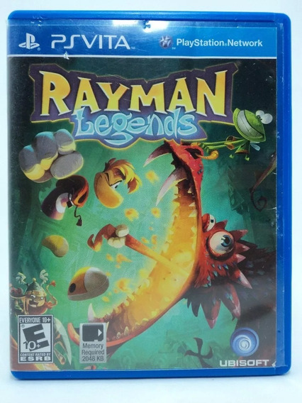 Rayman Legends - Ps Vita - Semi-novo - Original