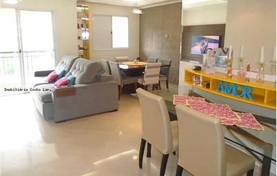 Apartamento Para Venda Em São Paulo, Jardim Ester, 3 Dormitórios, 1 Suíte, 1 Banheiro, 2 Vagas - 8299