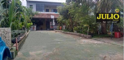 Imagem 1 de 16 de Sobrado  Residencial À Venda, Plataforma Ii, Mongaguá. - So0583