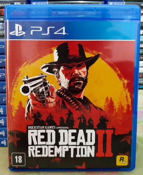 Red Dead Redemption 2 Ps4 - Mídia Física Português Com Mapa
