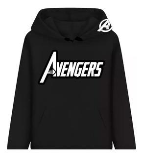 Blusa Moletom Os Vingadores Marvel Herois Casaco Mega Hqs!!!
